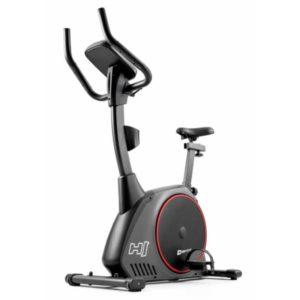 Велотренажер электромагнитный Hop-Sport HS-095H Strike серый+ мат