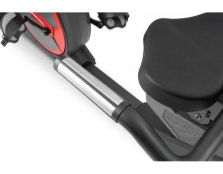 Горизонтальный велотренажер Hop-Sport HS-300L Canion с телеметрическим поясом + мат под тренажер