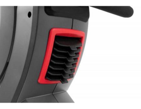 Гребной тренажер аэромагнитный Hop-Sport HS-100AR Roam серый + мат