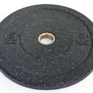 Бамперные диски для кроссфита Bumper Plates из структурной резины d-51мм RAGGY ТА-5126-5 5кг