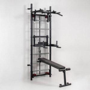 Профессиональная система эспандеров со скамьей для пресса и спины Кросс-тренер Full RN-Sport
