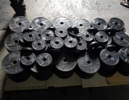 Диск RN-Sport стальной обрезиненный 2,5 кг - 51 мм