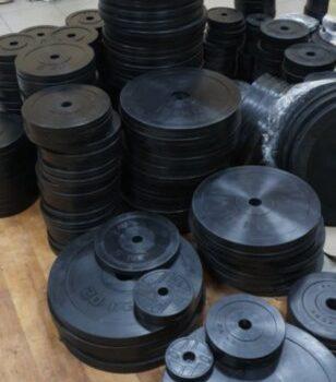Диск RN-Sport стальной обрезиненный 5 кг - 51 мм
