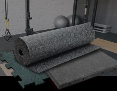 Напольное покрытие для фитнес-залов