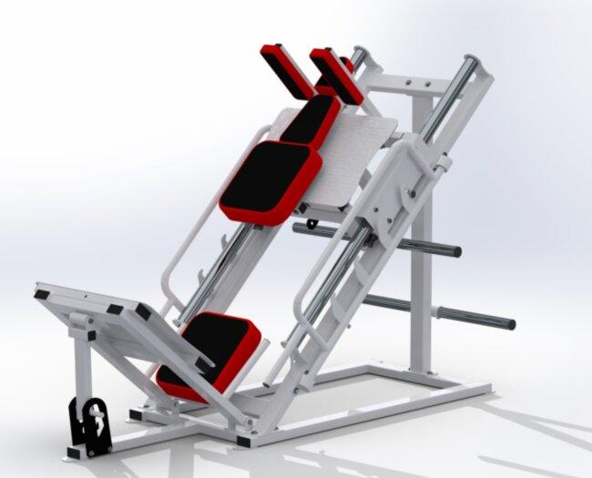 Тренажер гак машина RN-Sport HAUKKA