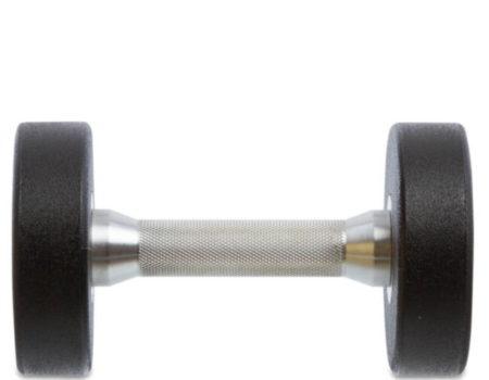Гантель цельная профессиональная TECHNOGYM (1шт) TG-1834-5 5кг (полиуретановое покрытие, вес 5кг)