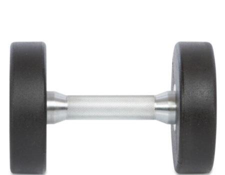 Гантель цельная профессиональная TECHNOGYM (1шт) TG-1834-7_5 7,5кг (полиуретановое покрытие, вес 7,5кг)