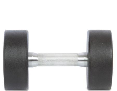 Гантель цельная профессиональная TECHNOGYM (1шт) TG-1834-12_5 12,5кг (полиуретановое покрытие, вес 12,5кг)