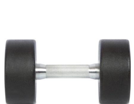Гантель цельная профессиональная TECHNOGYM (1шт) TG-1834-15 15кг (полиуретановое покрытие, вес 15 кг)