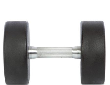 Гантель профессиональная TECHNOGYM на 22,5 кг (полиуретановое покрытие)