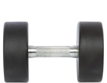 Гантель цельная профессиональная TECHNOGYM (1шт) TG-1834-25 25кг (полиуретановое покрытие, вес 25кг)