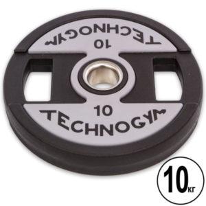 Блин (диск) полиуретановый d-51мм TECHNOGYM  10кг