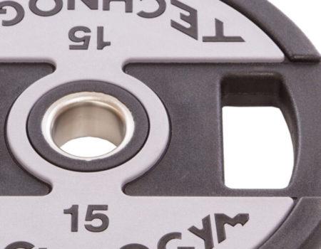 Блин (диск) полиуретановый d-51мм Technogym  15кг