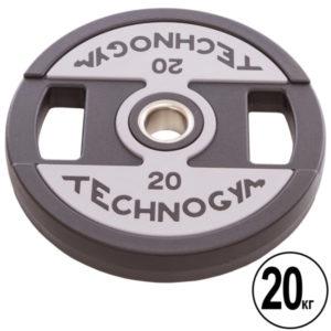 Блин (диск) полиуретановый  d-51мм Technogym  20кг