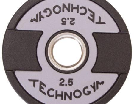 Блин (диск) полиуретановый d-51мм Technogym 2,5кг