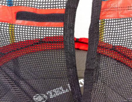 Батут с защитной сеткой детский  d-138см, h-180см