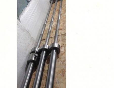 Гриф олимпийский 2.2 метра - 20 кг - 50 мм - до 450 кг. Оцинкованный