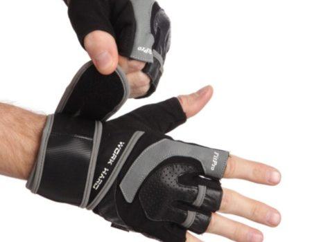 Перчатки для тяжелой атлетики Maraton размер ХL , черно-серый