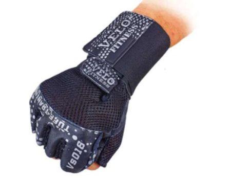 Перчатки атлетические с фиксатором запястья Prof Fitness, размер L