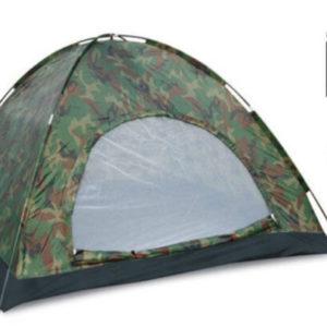 Палатка камуфляж Woodland 3-х местная (2х2х1,35м)