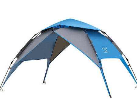 Палатка-автомат с автоматическим каркасом 2-х местная (2,2х1,5х1,3м)