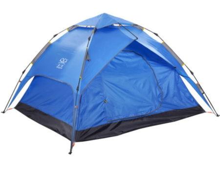 Палатка-автомат с автоматическим каркасом 4-х местная (2х2,3х1,4м)
