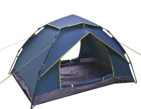 Палатка-автомат с автоматическим каркасом 2-х местная ( 2,1х1,5х1,2м)