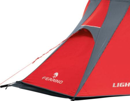 Туристическая одноместная палатка Ferrino Lightent 1 Red