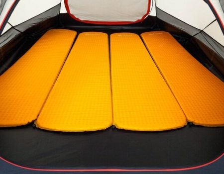 Палатка Wechsel Precursor 4 Unlimited (Green)+ коврик надувной 4шт