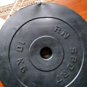 Диск композитный 10 кг - 31 мм 1