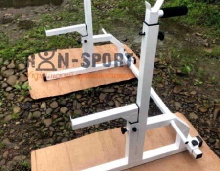 Лавка 3090 + Стойки 50Х50 со страховочными упорами RN-Sport