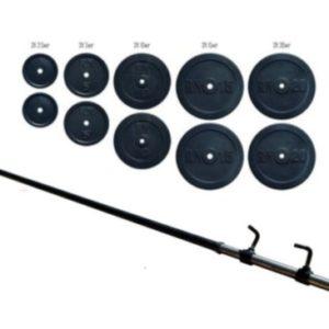 Штанга наборная Rn-Sport на 112 кг
