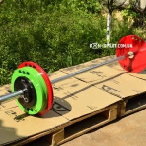 Олимпийская штанга 165 кг с грифом
