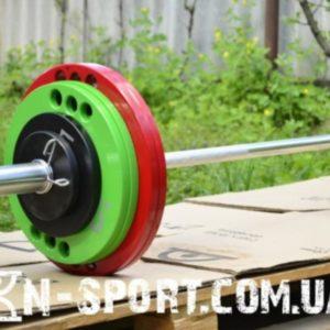 Штанга олимпийская 135 кг с грифом 2.2 метра - 50 мм