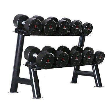 Гантели профессиональные 17,5 кг, 20 кг, 22,5 кг, 25 кг + стойка