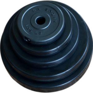 Диски битумные 31 мм. Блины в пластиковой оболочке.