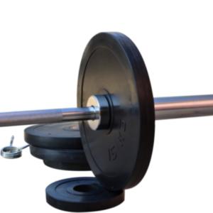 Диск RN-Sport стальной обрезиненный 15 кг - 27 мм