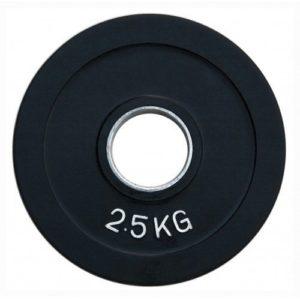 Диск олимпийский обрезиненный  alex 2.5 кг