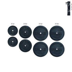 Набор блинов 100кг (2х5, 2х10, 2х15, 2х20) под гриф 25,30 50 мм