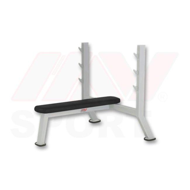 Профессиональная скамья для жима горизонтальная Prime