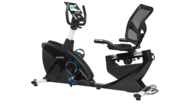 Горизонтальный велотренажер ELITUM LX900 iConsole+