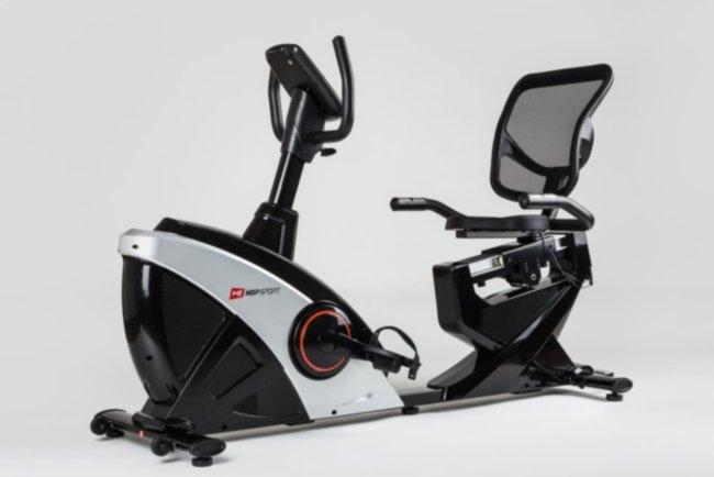 Горизонтальный велотренажер Hop-Sport HS-070L iConsole+ silver
