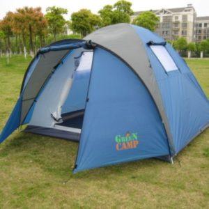 4-х местная палатка Green Camp 1004