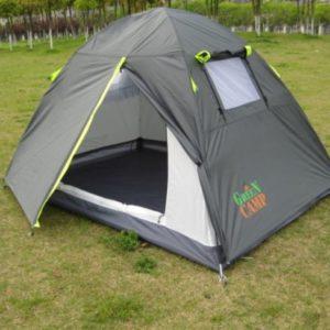 Двухместная двухслойная палатка Camp 1001A