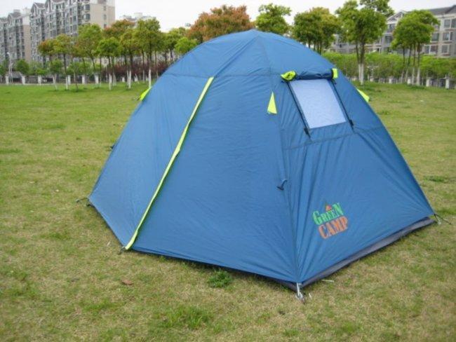 Двухместная двухслойная палатка Coleman 1001