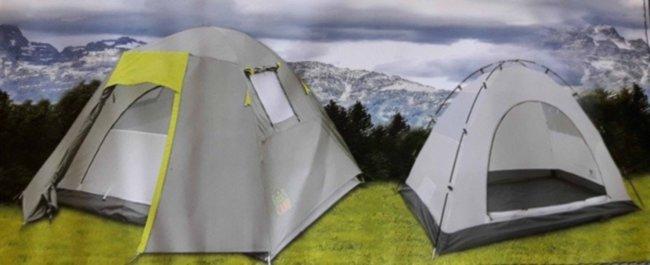 Палатка 4-х местная Green Camp 1013-4