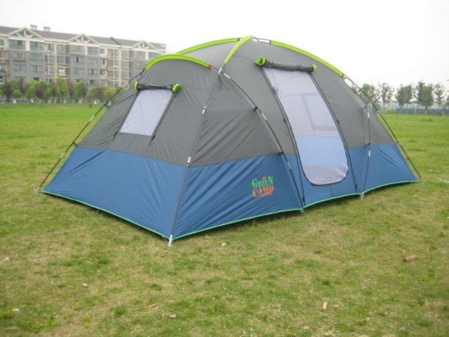 Палатка 4-х местная Green Camp 1100