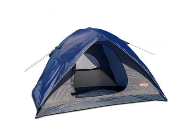 Двухслойная кемпинговая палатка Coleman 1018