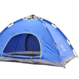 Палатка-трансформер  двухместная fast-folding blue