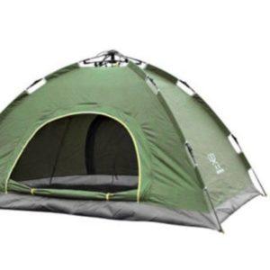 Палатка-трансформер двухместная fast-folding green